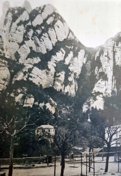 Canals Avellaners inicis obres funicular  1917