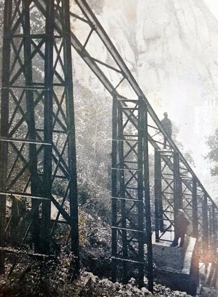 Construccio viaducte 1917