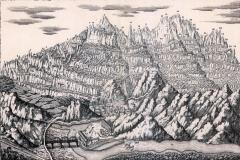 Dibuix de J. Estella 1869
