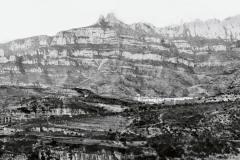 Fotografia de Montserrat feta l'any 1892 per J. Eplugas Puig
