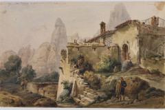 Ermita sant Dimes Adolph Hedwige Alphonse Delamare 1826