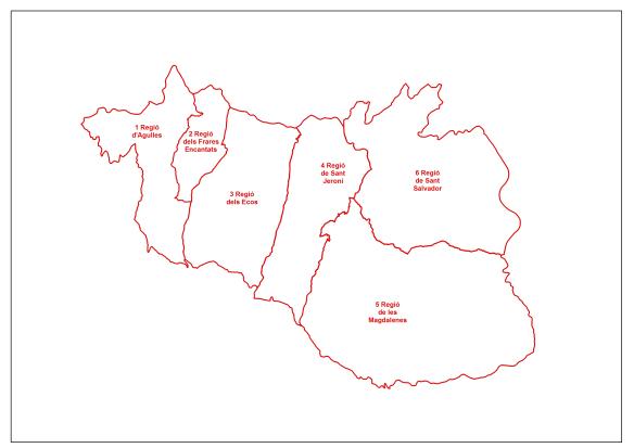 Regions totes dibuix