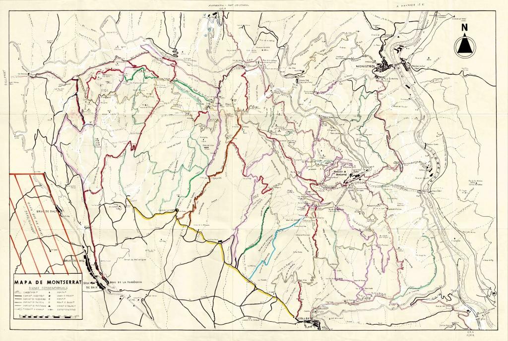 Mapa Pere Bosquets Mapa BR