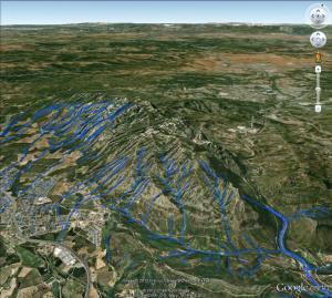Sietma hidrologia zona 4 i 3