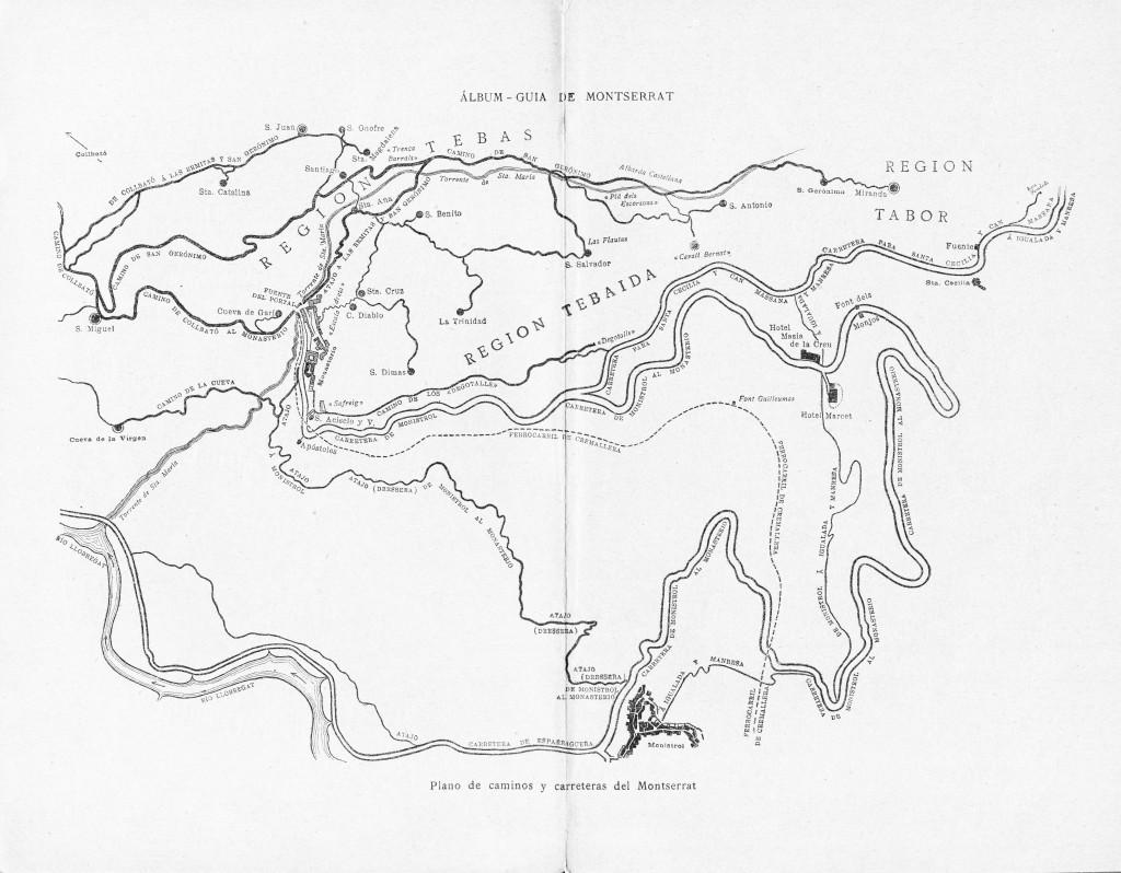 Eudald Canibell, Montserrat, Album Guia Plano Historia 1898