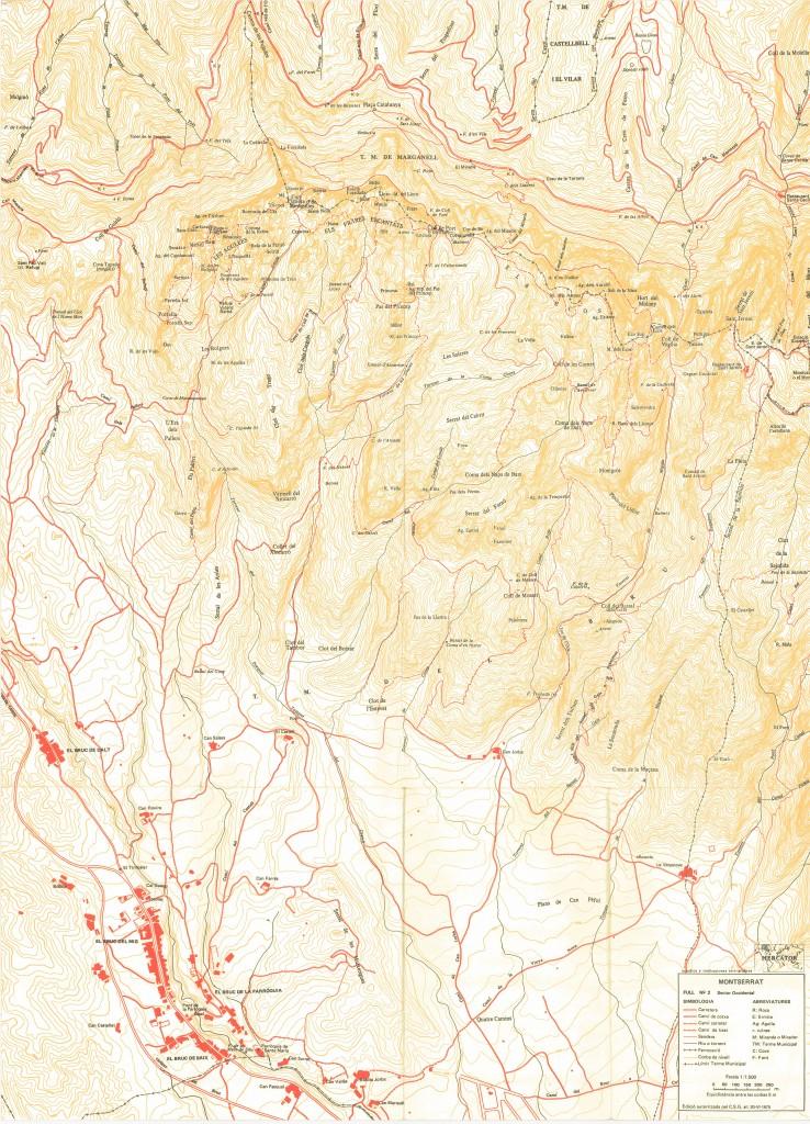 Mapa de Ramon Ribera, full 2 1975