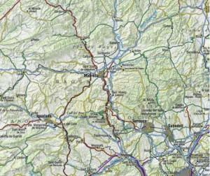 Montserrat sistema carreteres C 55 sencera