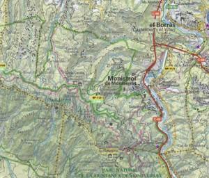 Montserrat sistema carreteres Carreteres 1103