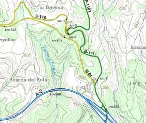 Montserrat sistema carretres 111