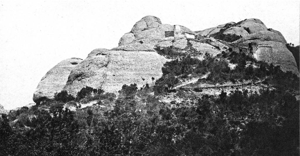 Ermita de sant Jeroni. Album Pintoresch Monumental (1881)