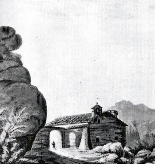 Ermita de santa Anna. R.Cold Hoare (1788)
