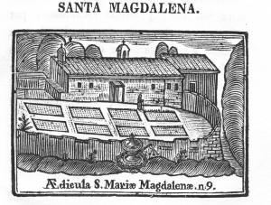 Compendio Abat Argerich  Ermita de Santa Magdalena retallada