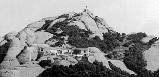Ermita de sant Jeroni. Data incerta, començaments del segle XX (detall)