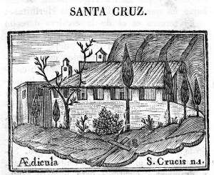 Ermita de Santa Creu Compendio Abat Argerich  retallada