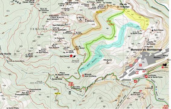 Itineraris de Joan Cabeza  Alpina 5K