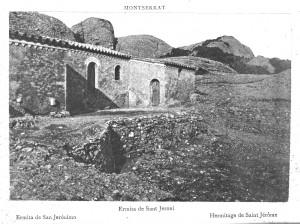 Ermita de sant Jeroni (llibre de tapes vermelles)