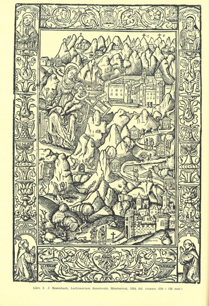 J. Rosenbach Lectionarium Sanctorate Montserrat 1524