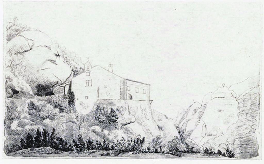 Ermita de santa Anna. Apunts d'A. de Laborde (XIX)