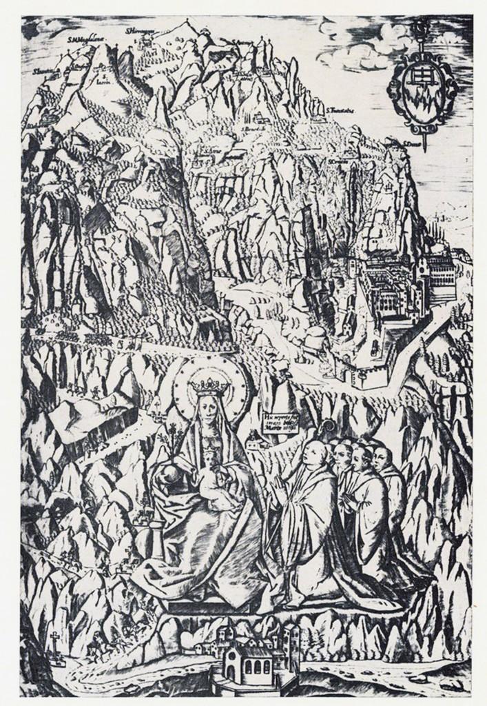 Gravat de Montserrat fet a Roma  1572