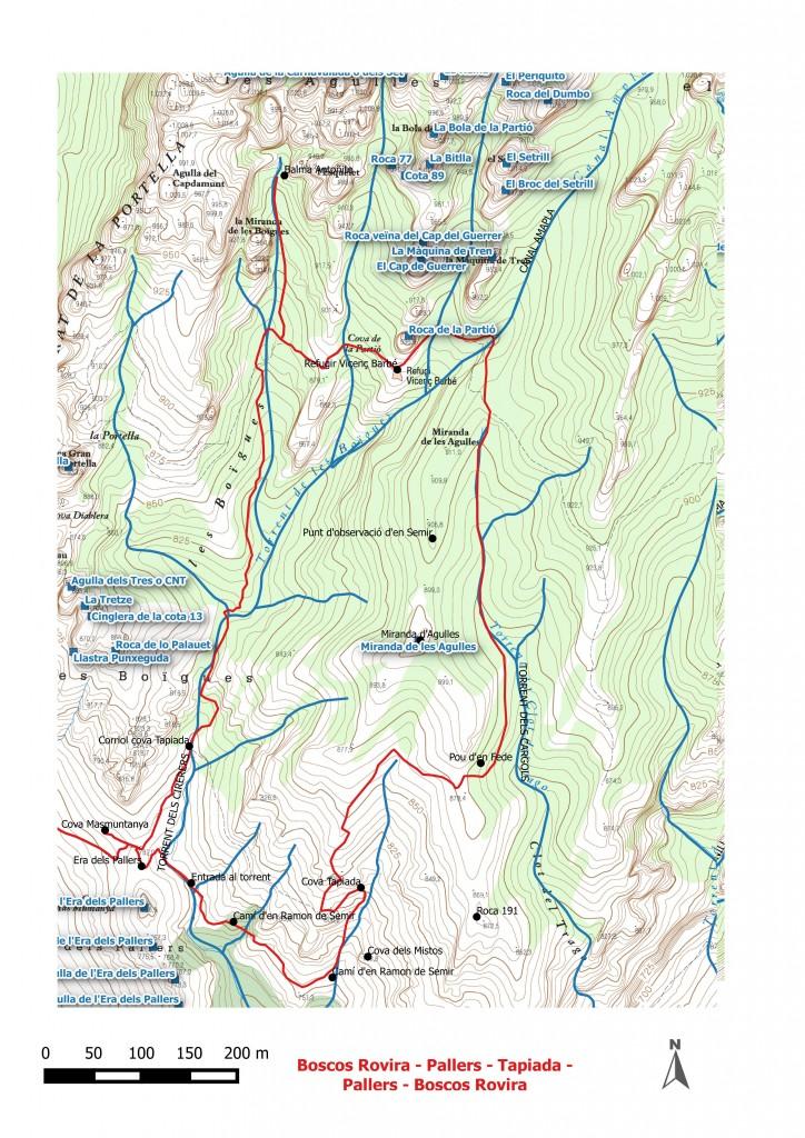 Boscos Rovira - Pallers - Tapiada - Pallers - Boscos Rovira Dibuix 2