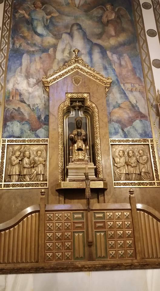 Mare de Deu de Montserrat esglesia de la Virreina