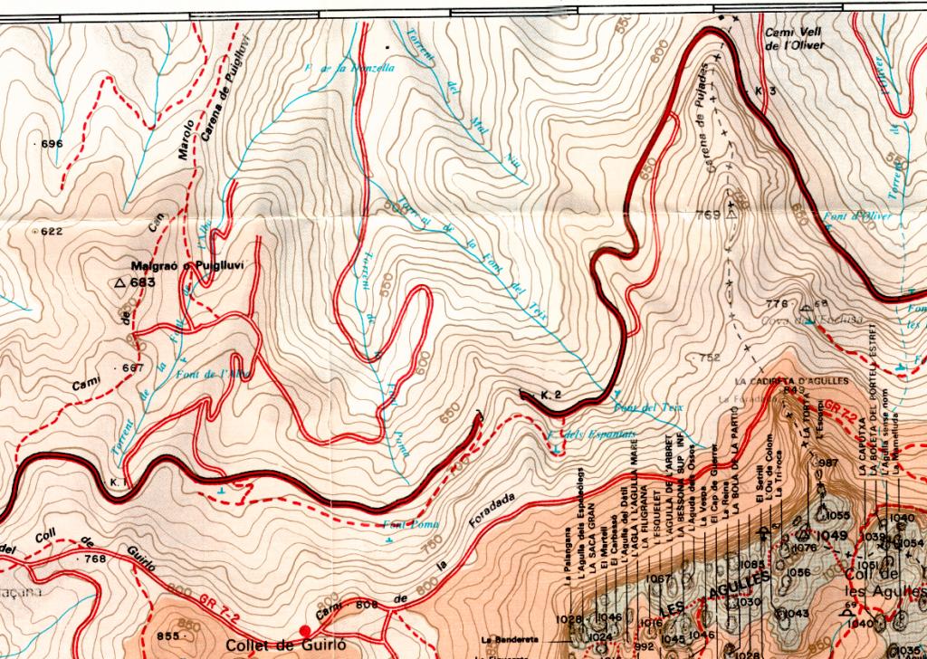 Baixada dels espantats Alpina 1989