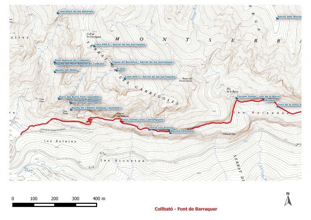 Itineraris Collbato - font del Barraquer 1