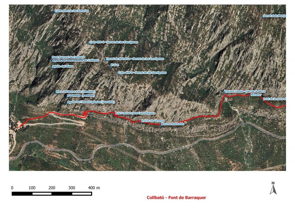Itineraris Collbato - font del Barraquer 2