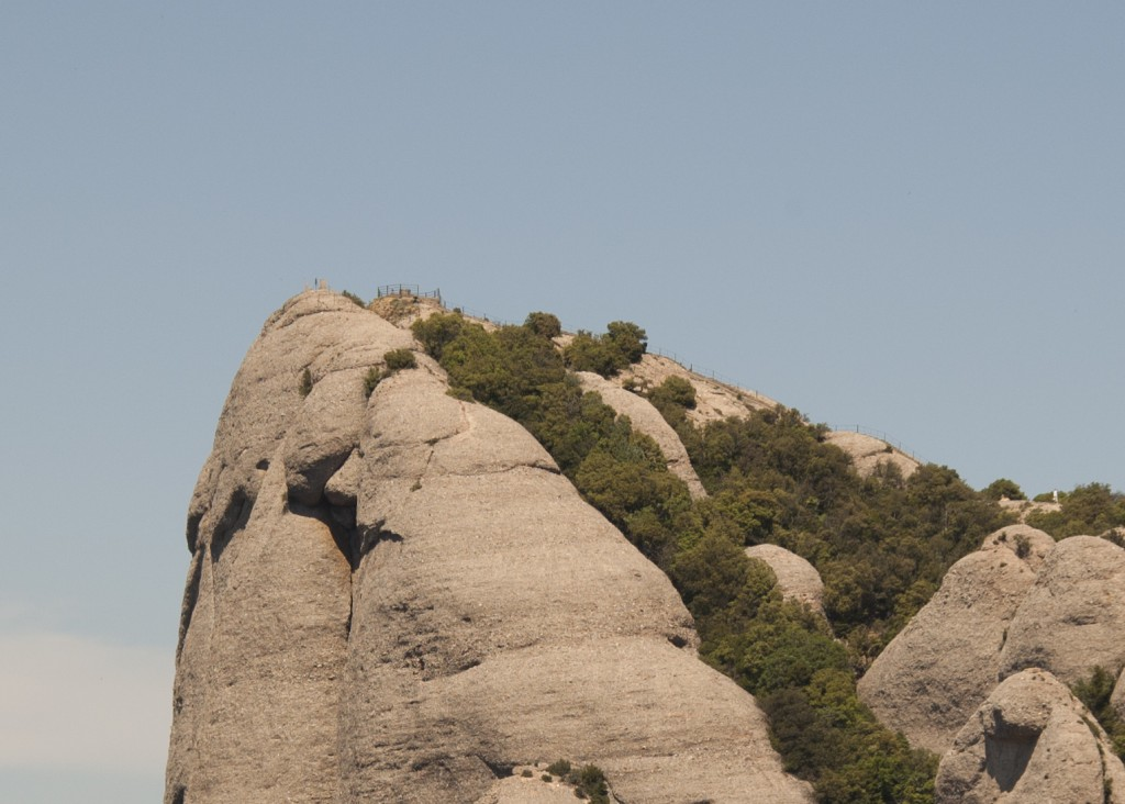 Des del cim del Montgròs