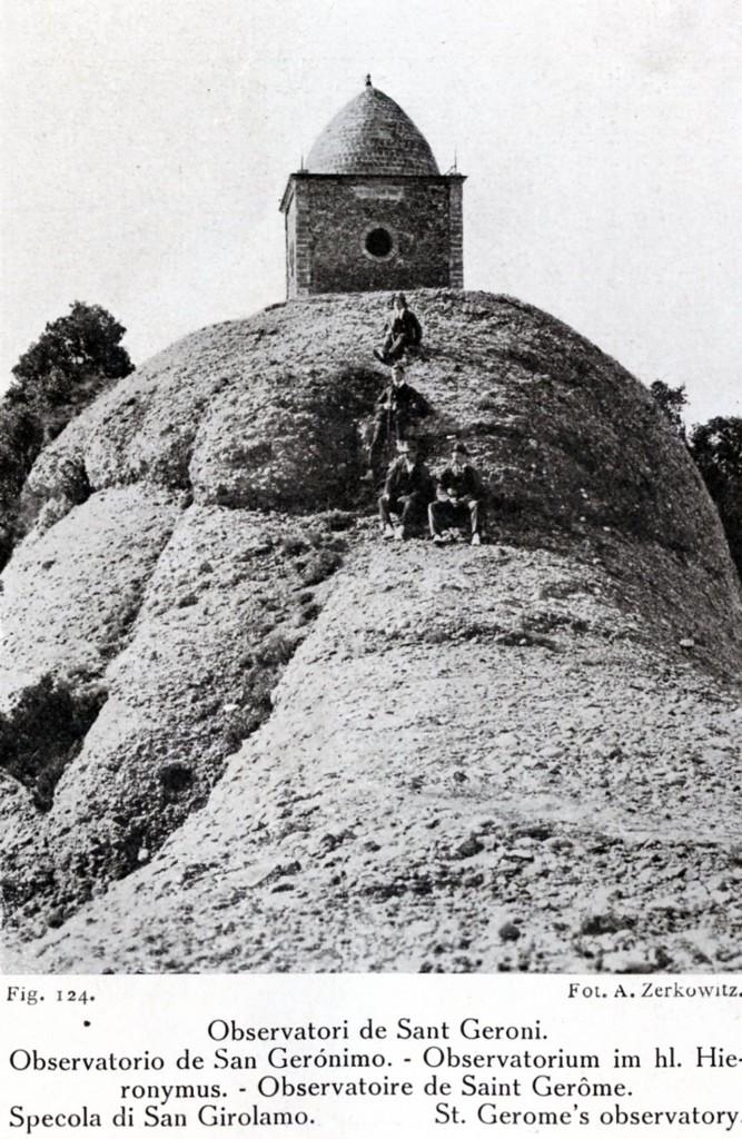 Estacio metereologica Llaverias 1916 A