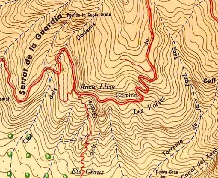 Roca Llisa Ramon de Semir 1949