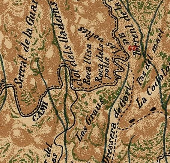 Roca Llisa i roca dels Polls Joan Cabeza 1909
