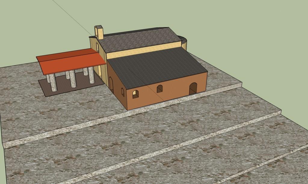 Esglesia X-X edifici annex i galileaI
