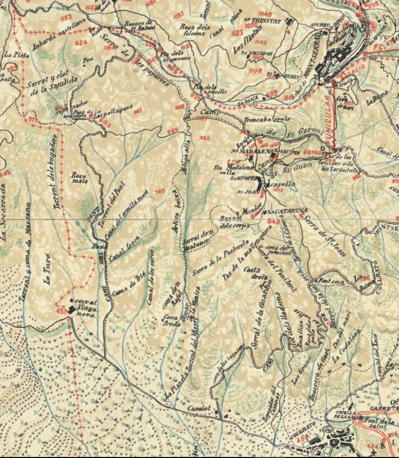 Mapa Joan Cabeza 1909