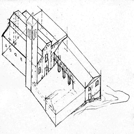 Esglesia XIV 1348 claustres alçat