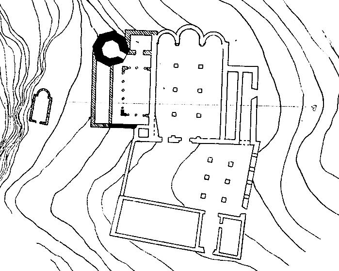 Esglesia XIV 1375 planta