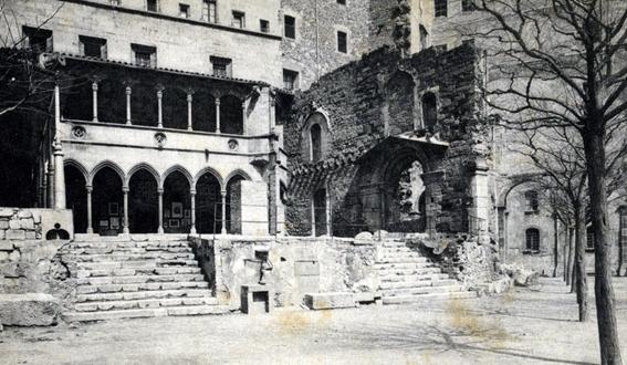Portaladas esglesia segle XIV