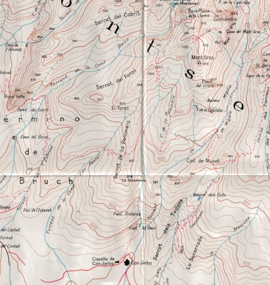 Cami de la Palomera Alpina 1963