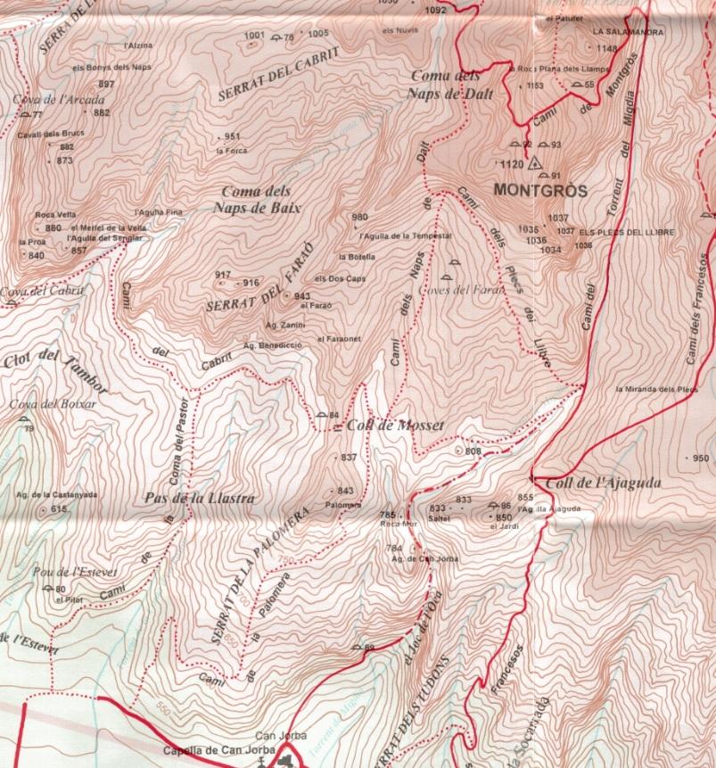 Cami de la Palomera Alpina 1996