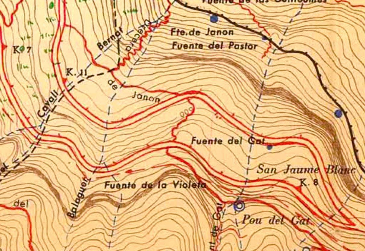 Detall Ramon de Semir 1949
