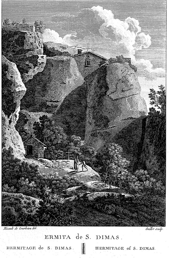 Ermita-de-Sant-Dimas_Vista-del-Convent-de-Montserrat-presa-des-de-la-Muntanya-detall-670x1024