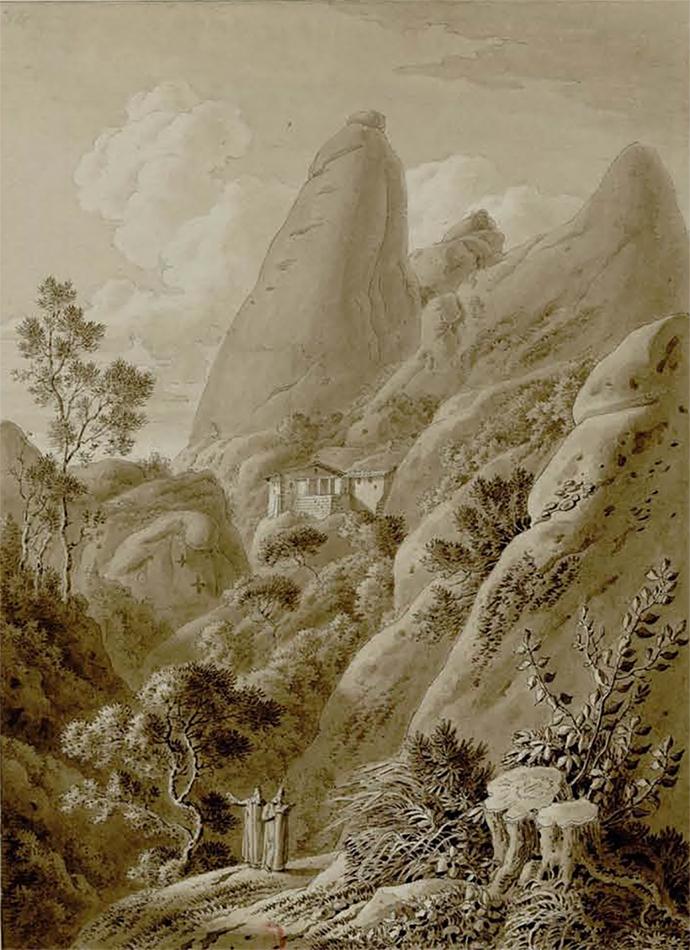 1 Ermita de santa Anna - Planxa XXVI dibuix