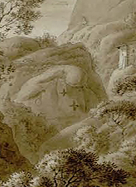 2 Creus del pas de la Burra dibuix original 545x750