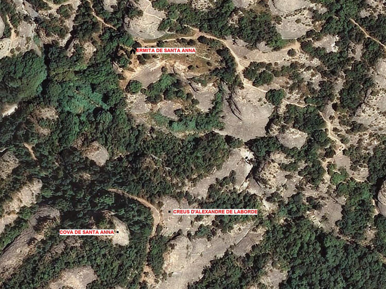 3 Creus ermita de santa Anna ortofotografia 1500x1126