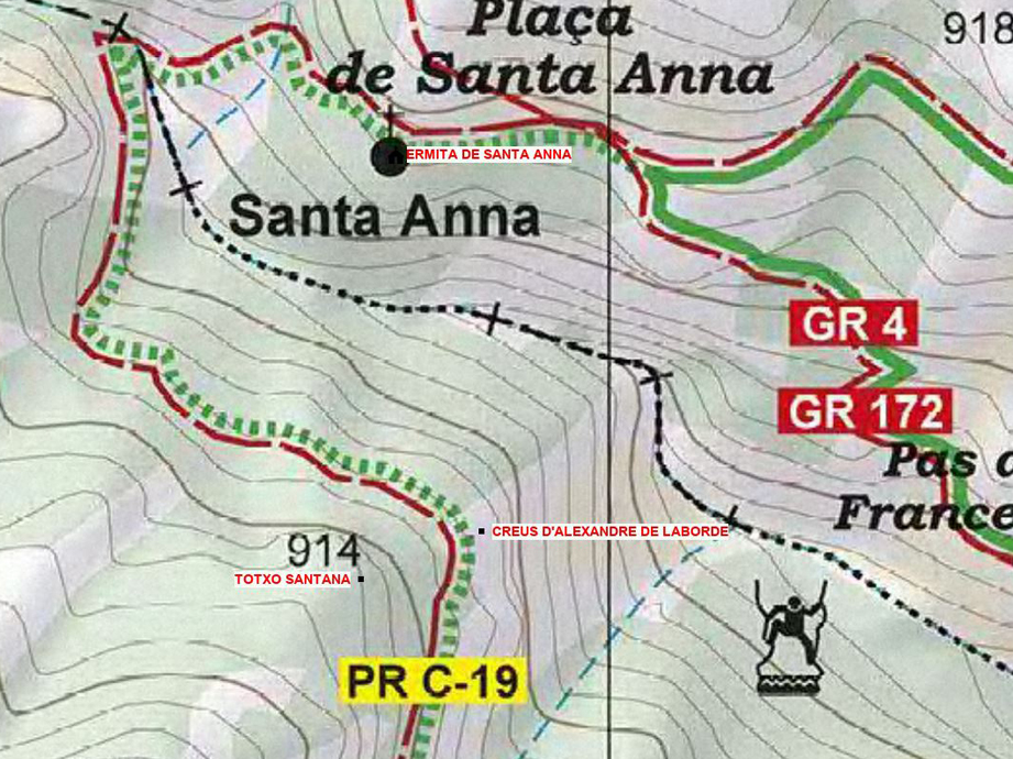 4 Creus ermita de santa Anna topografic 920x690